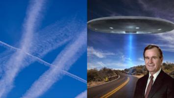 Thumbnail for Ep. #289: Chemtrails & Orgone Energy w/ Sharon Daphna | UFOs & George H.W. Bush w/ Stephen Bassett