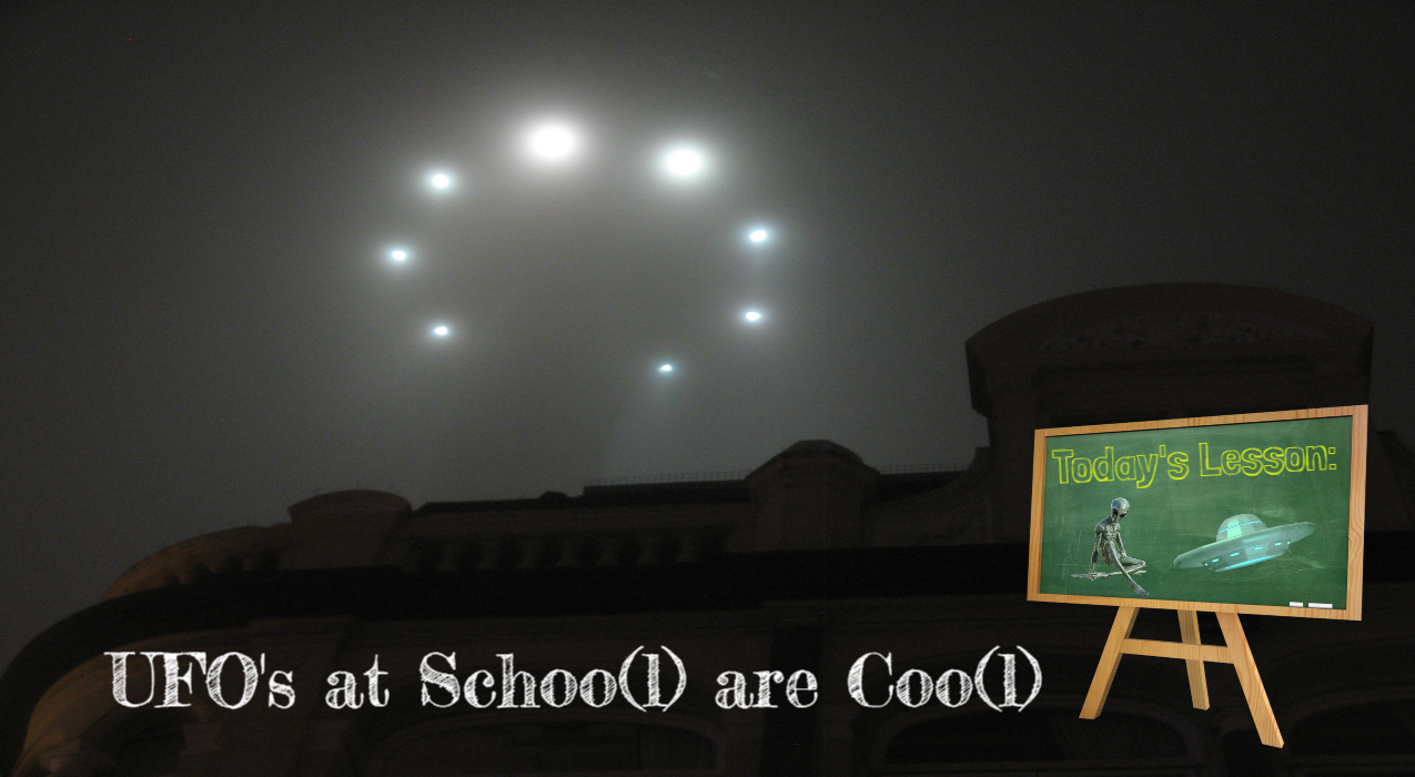 Thumbnail for Ep. #327: UFO's at School are Cool w/ Preston Dennett