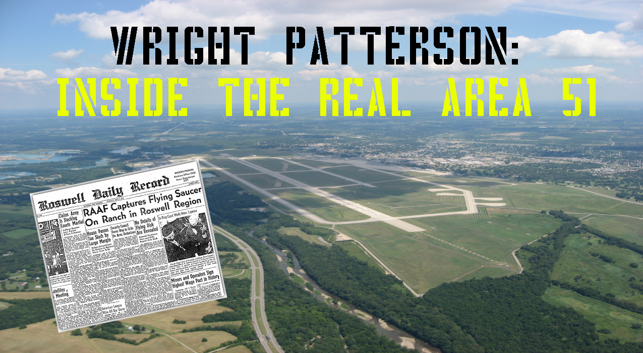 Thumbnail for Ep. #329: Wright Patterson – Inside The Real Area 51 w/ Tom Carey