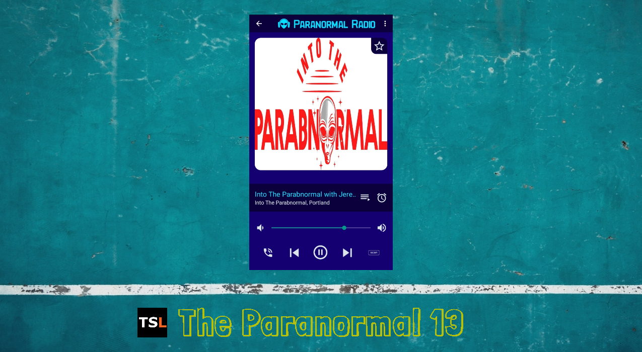 """Thumbnail for """"Into The Parabnormal"""" Ranked #6 on 'The Paranormal 13'"""