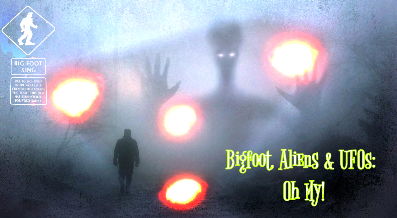 Thumbnail for Ep. #360: Bigfoot, Aliens & UFOs: Oh My! w/ Ron Meyer & Jason McLean
