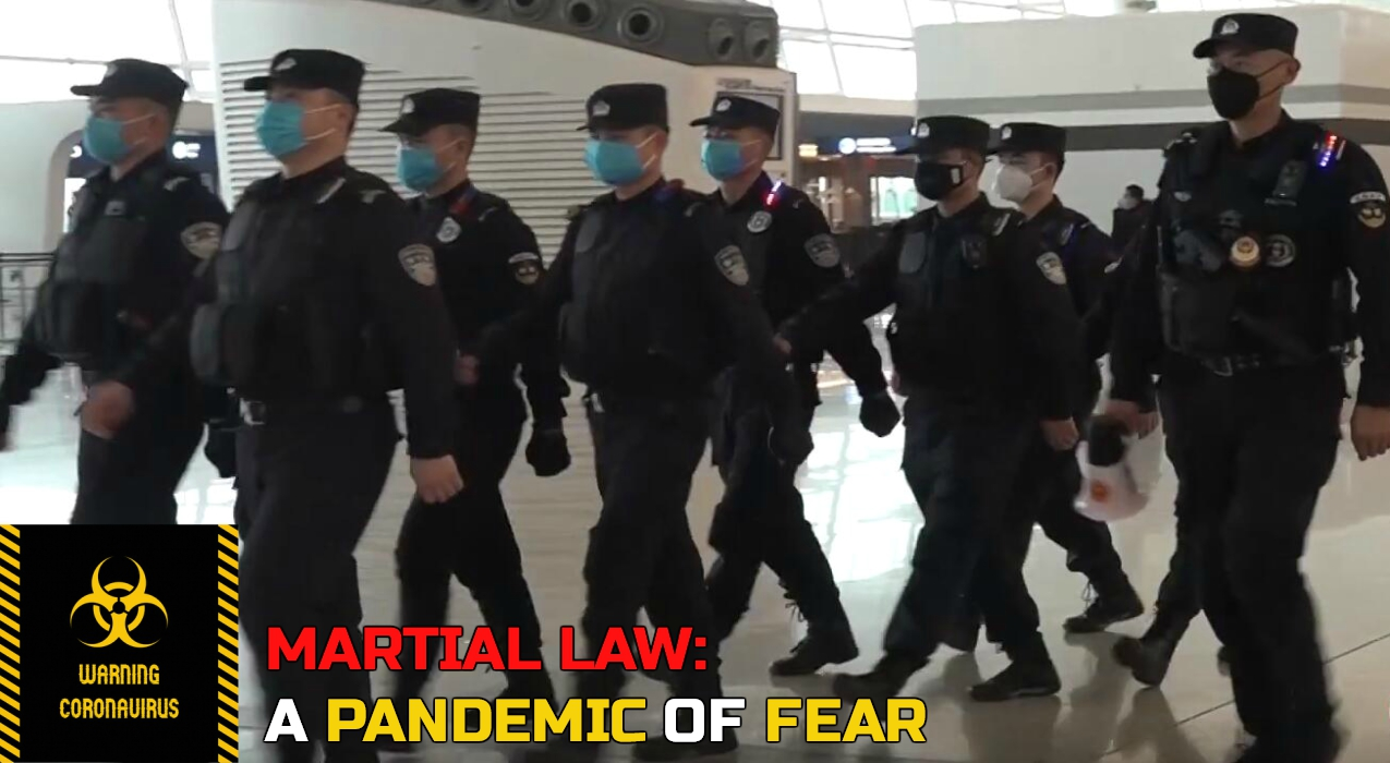 Thumbnail for Ep. #361: Martial Law: A Pandemic of Fear