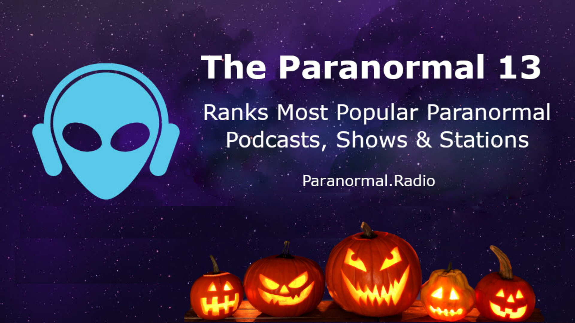 """Thumbnail for 'Paranormal 13' Ranks """"Into The Parabnormal"""" #4 Show, #5 Podcast"""