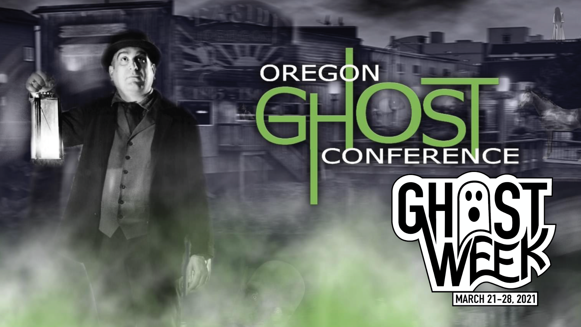 Thumbnail for Ep. #427: Oregon Ghost Conference Virtual Broadcast
